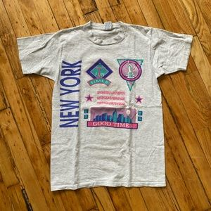 Funny Vintage New York Graphic T-Shirt